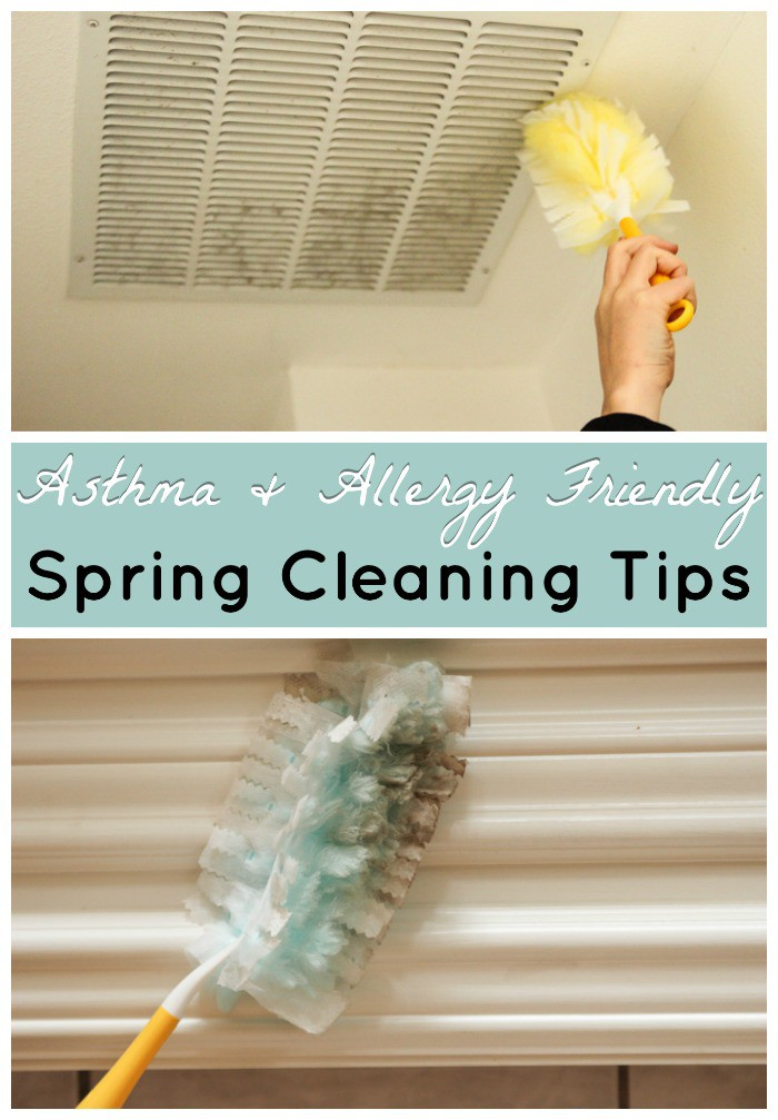Top 10 Spring Cleaning Tips to help you remove allergens with allergy and asthma friendly products