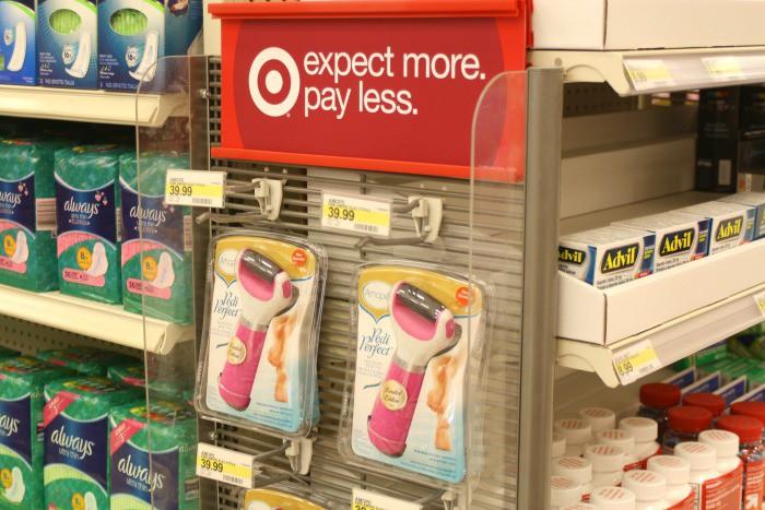 Pink Amopé at Target