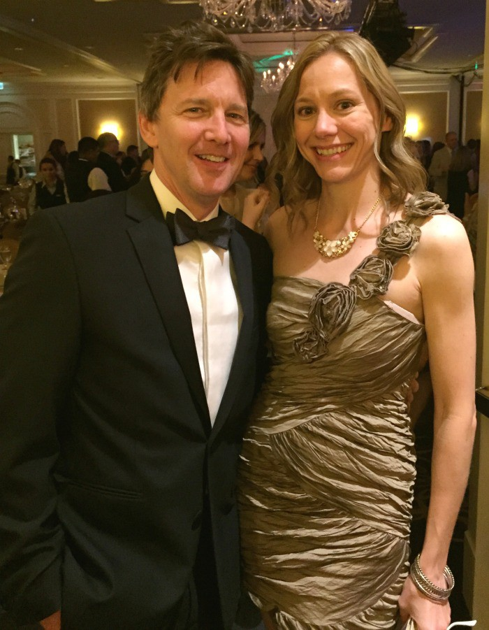 I met Andrew McCarthy at the IRIS Awards for Mom 2.0!