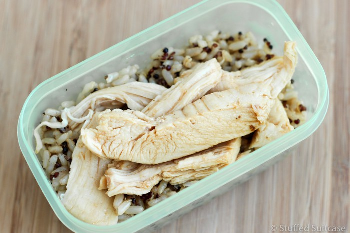 One of my girls' favorites is this simple leftover chicken recipe for teriyaki chicken