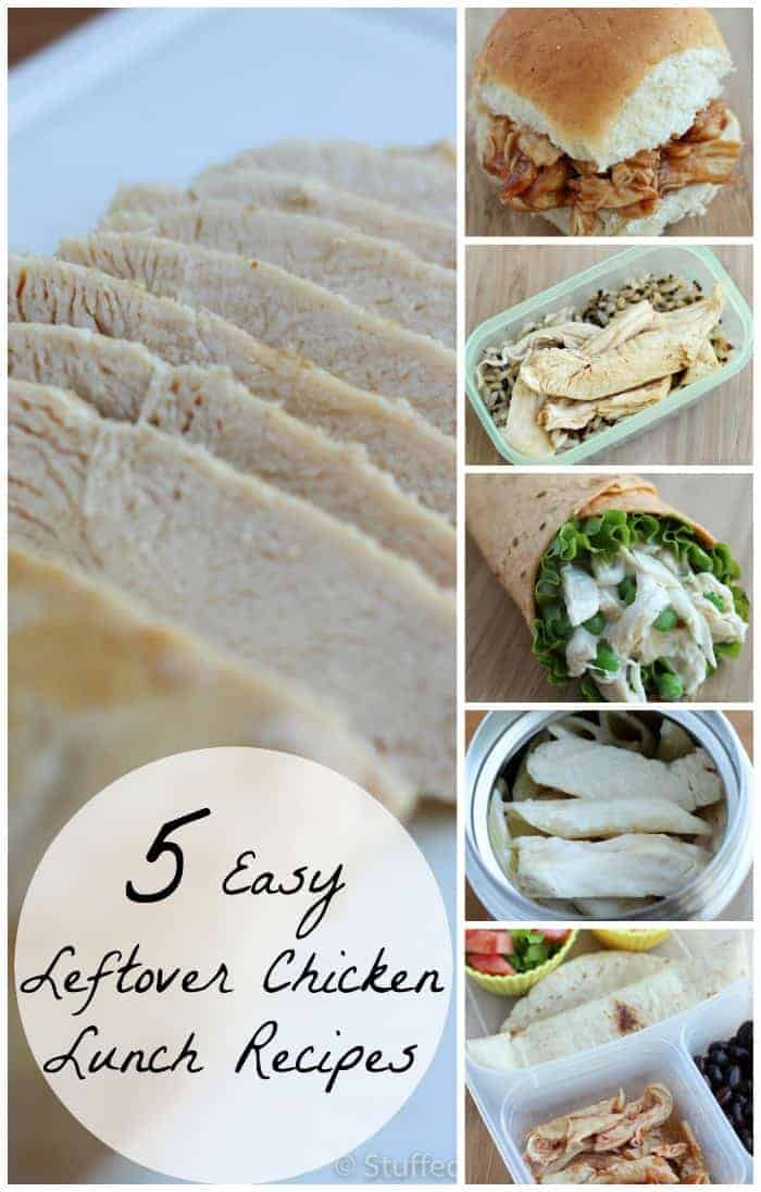 Save time and money by creating these leftover chicken recipes, perfect for easy and delicious lunch meals