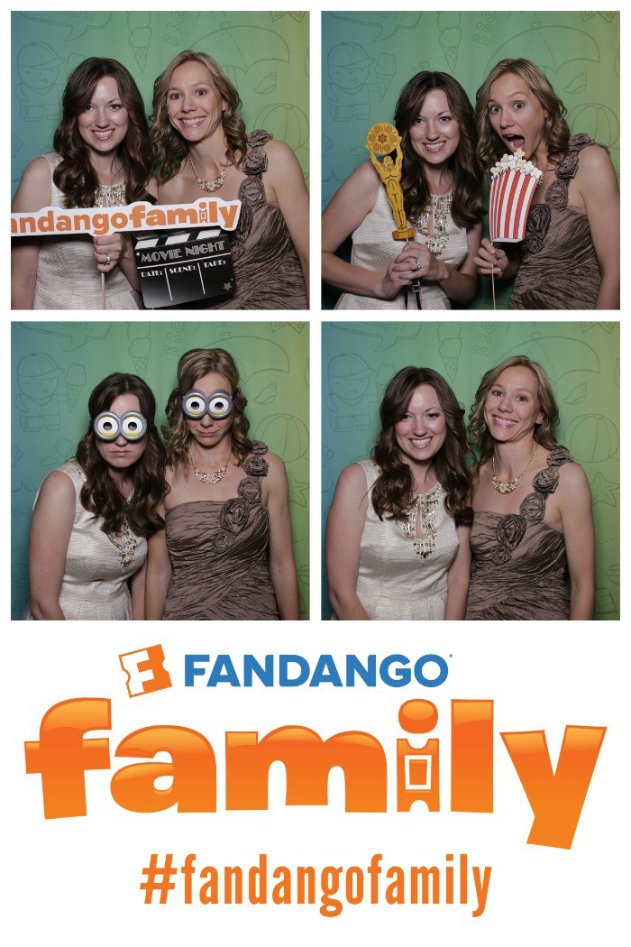Me & my awesome roomie at the Fandango Family pre-party