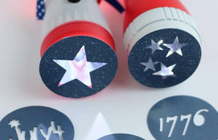 4th of July Flashlights for Kids on Independence Day