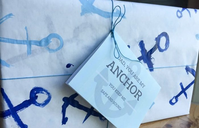 Thank Dad for Being the Anchor: Father's Day Gift