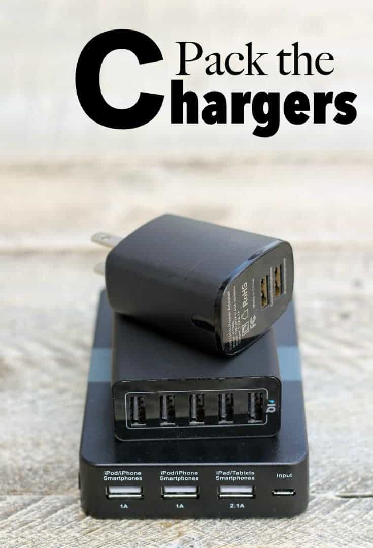 Packing Tips : packing chargers