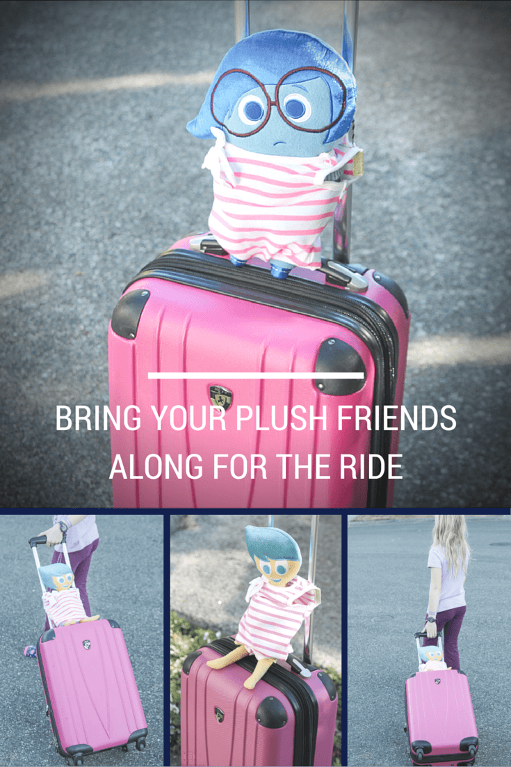Kids love having a friend along for the trip during family travels. Help them have some emotional support by creating this DIY travel carrier to bring their cuddly confidant along.