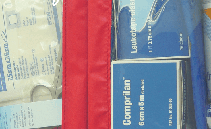First Aid Kits :: A to Z Packing Tips Series