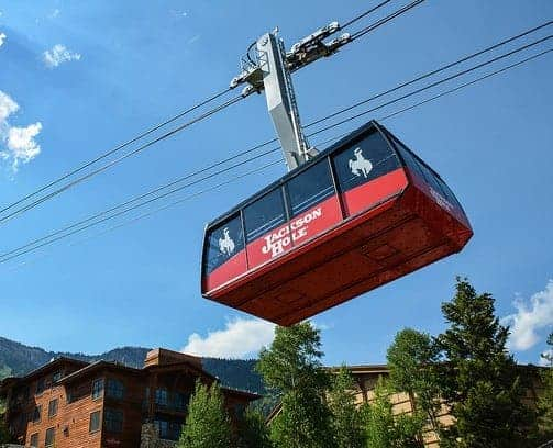 Tram at Jackson Hole WY