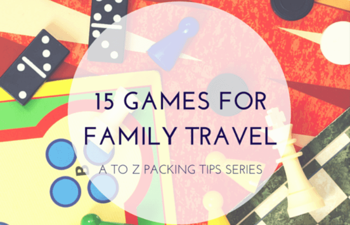 15 Easy to Pack Games for Any Family Trip :: A to Z Packing Tips Series