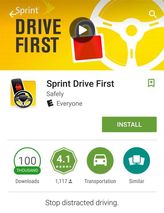 Sprint-Drive-First-app
