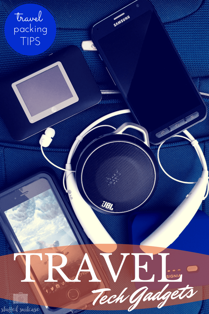 Heading out for a vacation or adventure? Here are some of our favorite travel tech gadgets to pack along for the trip!