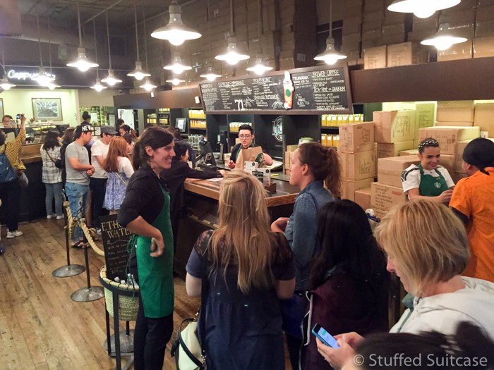 A peek inside the original Starbucks Seattle store
