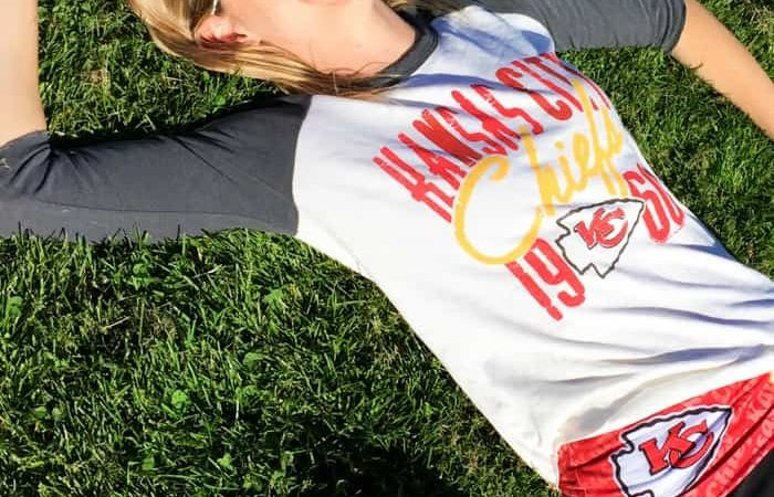 031d61b71 My Game Day Look    Kansas City Chiefs Fan Style