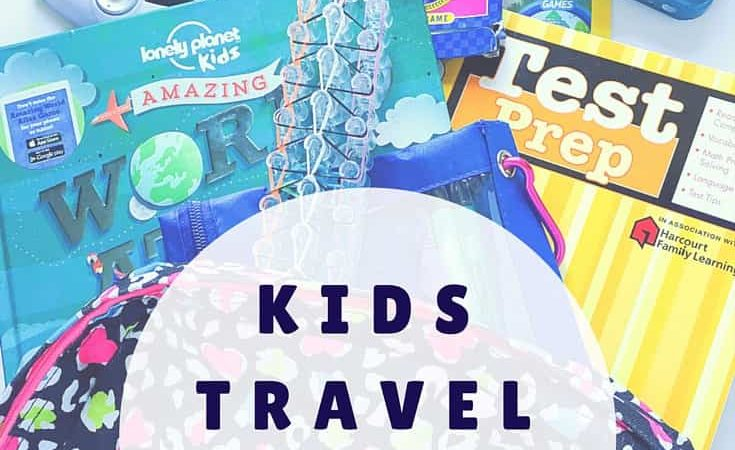 Heading out for a family vacation and looking for ideas to keep the kids busy? Here are our favorite activities to pack in the kids travel bags for road trips and plane rides.
