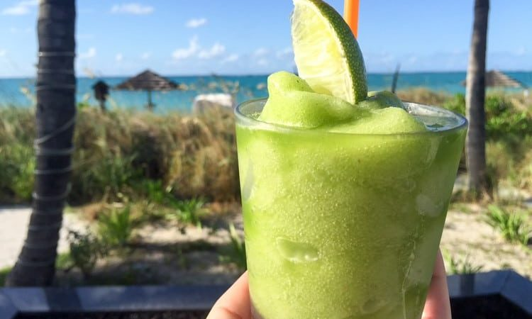 Frozen Mojito at Beaches Turks & Caicos