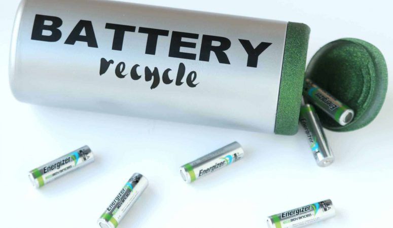 Create this DIY battery recycle container and keep batteries out of the garbage!