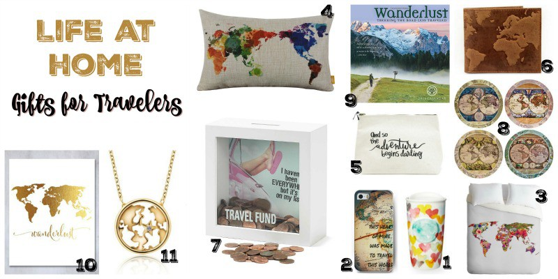 Life at Home Gifts for Travelers