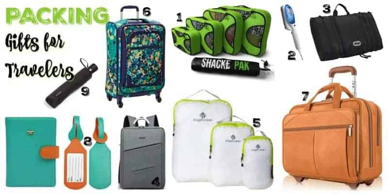 Packing Gifts for Travelers - Stuffed Suitcase