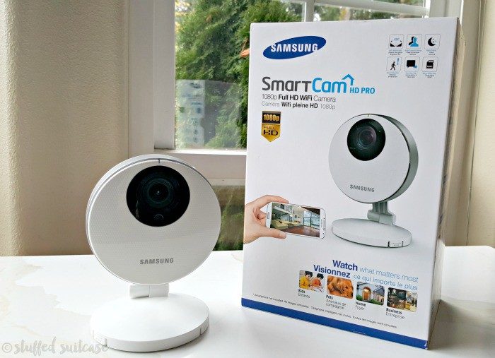 Watch Home While You're Away with Samsung SmartCam