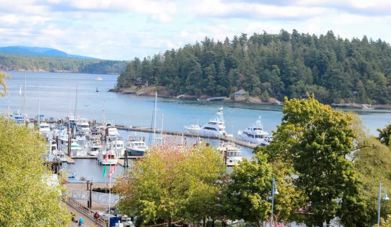 Picturesque town of Friday Harbor invites visitors to discover the adventure, food, and art of San Juan Island