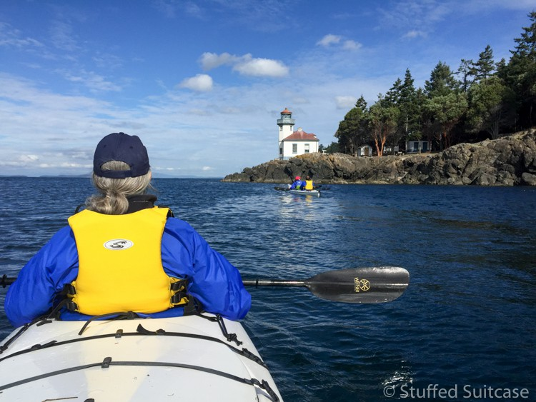 Peace and beauty at sea kayaking with Discovery Sea Kayaks San Juan Island