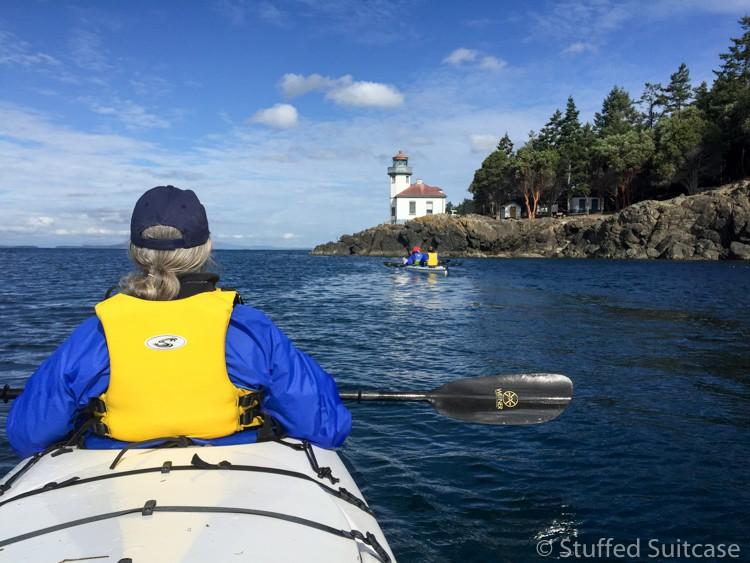 Peace and beauty at sea kayaking with Discovery Sea Kayaks San Juan Island