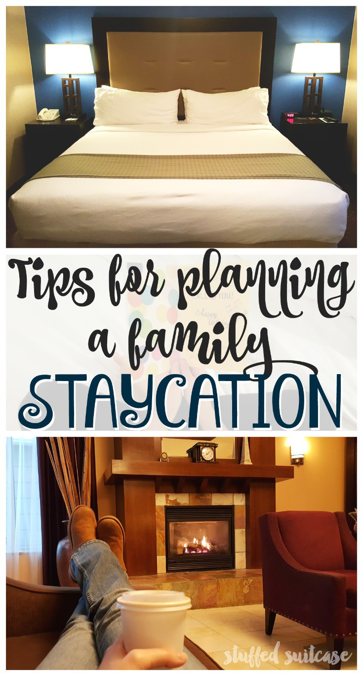 Take some time to play tourist in your own city! Here are some tips for planning a hotel staycation for your family.