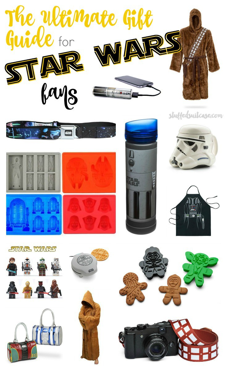 By the Force! Whether you're shopping for a Jedi, or a loved one who has gone to the dark side, any Star Wars fan will be space-happy to receive one of these unique Star Wars gifts! The ultimate gift guide for fans!
