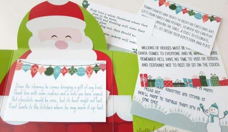 Christmas Scavenger Hunt Riddles from StuffedSuitcase.com