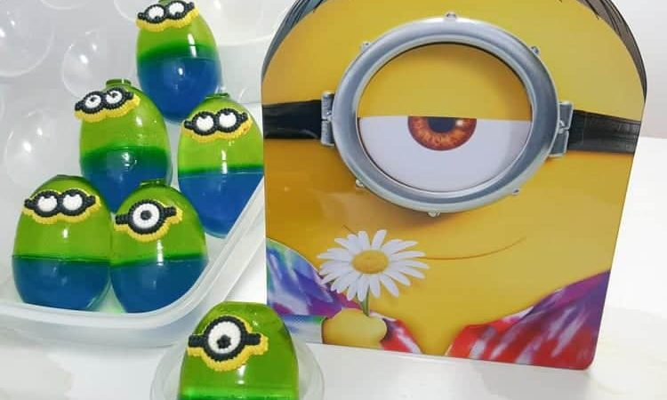 Minions Movie Jello Snacks