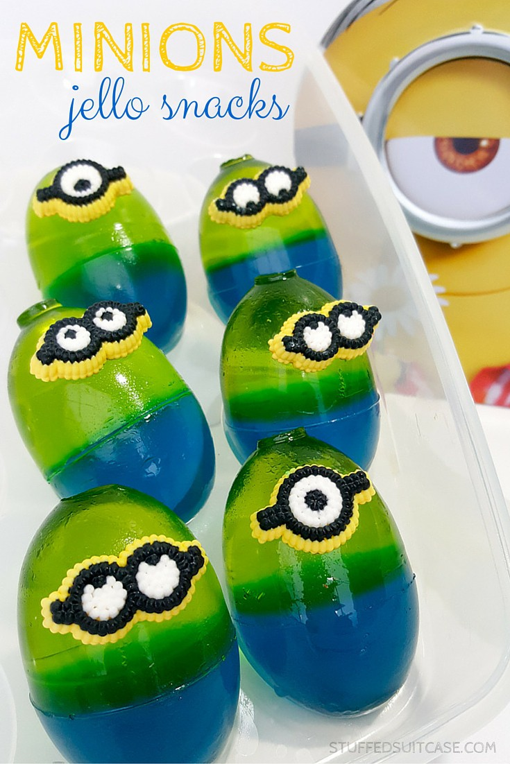 Ready to watch the new Minions movie, or are you planning the ultimate Minions party? These jello snacks are the perfect food for your mayhem plans!