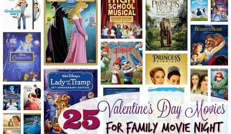25 Valentine's Day Movies for Family Movie Night