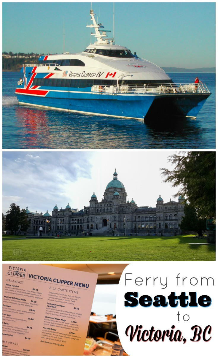 Spending some time in Seattle and want to take a trip to Canada? Hop aboard the Victoria Clipper for an easy journey on a ferry from Seattle to Victoria. Great for weekend getaways or tourist excursions!