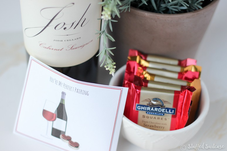 Get a little romantic with chocolate and wine #asweetpairing
