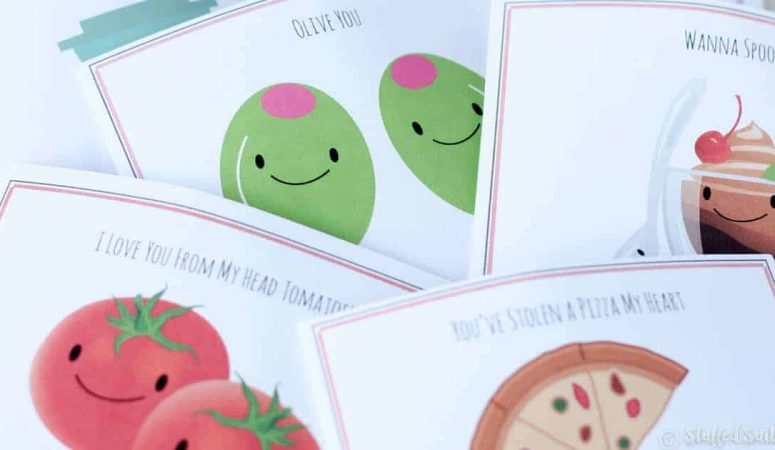 Sweet & Punny Valentines Day Cards Printable Love Notes