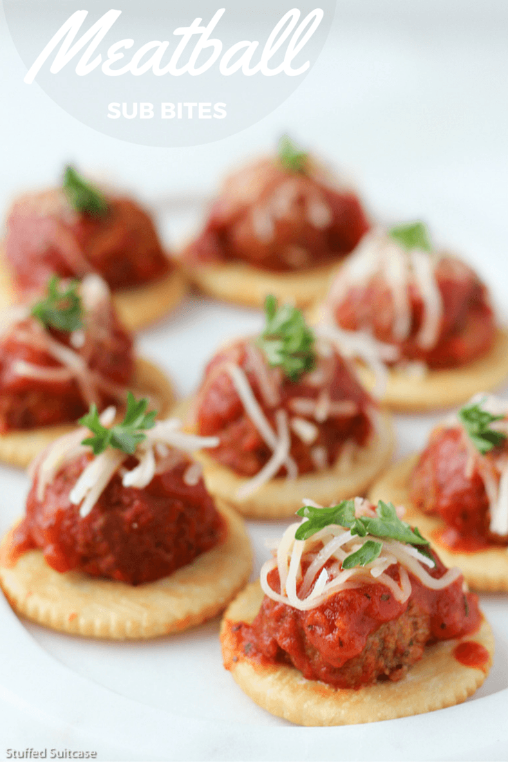 Need an appetizers recipe that's easy and delicious? How about this meatball sub recipe, the bite size snack is full of flavor. Great appetizers for party or crowds!