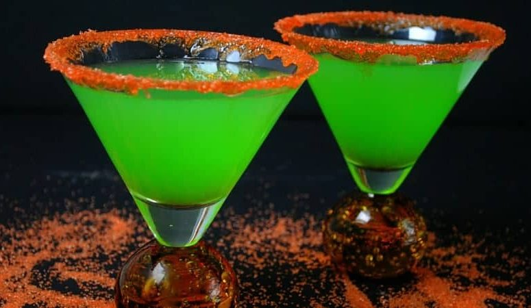 St Patrick's Day Shamrock Martini Recipe