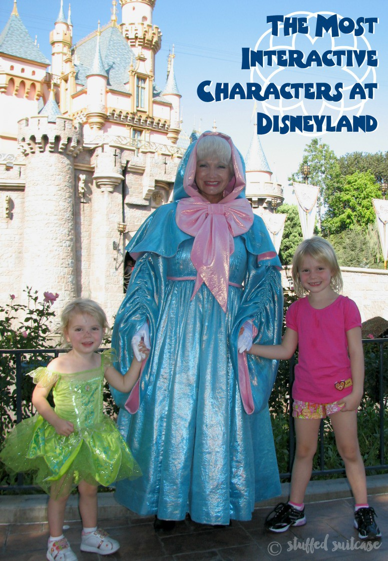 Photo ops abound when you visit a Disney park! Check out some of our most interactive Disney characters experiences, and tips for where to find them while on your Disneyland vacation!