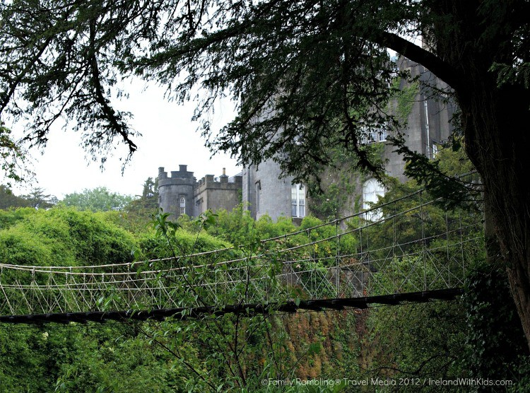 Birr Castle Suspension Bridge | photo courtesy of Ireland Family Vacations