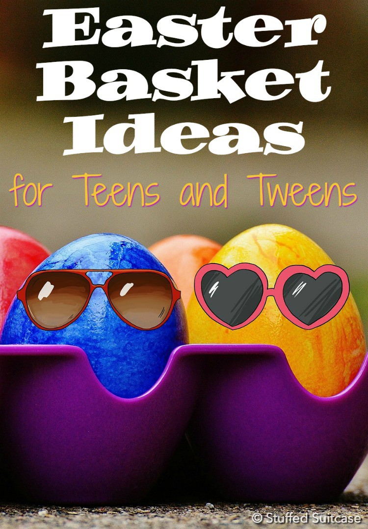 So helpful - here's a list of Easter basket ideas for teens and tweens! Great gift ideas