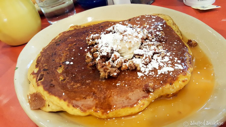 Snooze Signature Sweet Potato Pancake