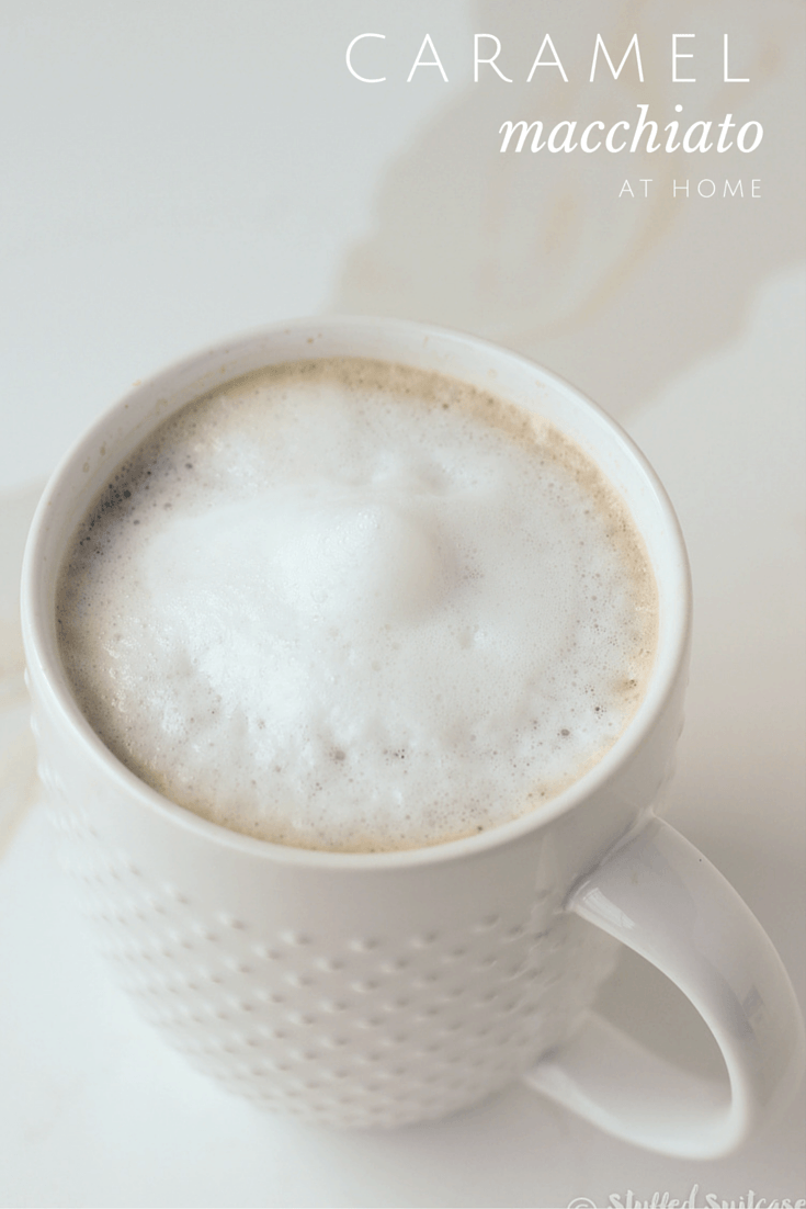 Skip the lines at the coffeehouse and make this delicious caramel macchiato recipe at home. It's the perfect morning treat for coffee lovers!