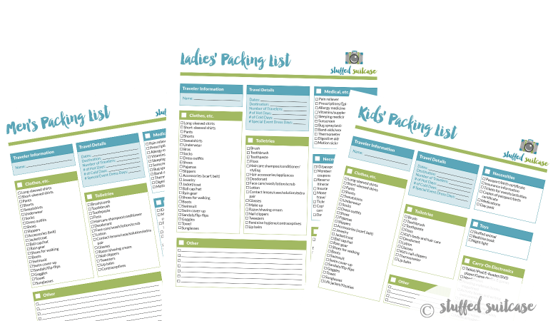 Packing tips secret free printable packing list