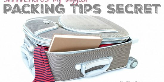 My biggest packing tips secret - using a packing list!