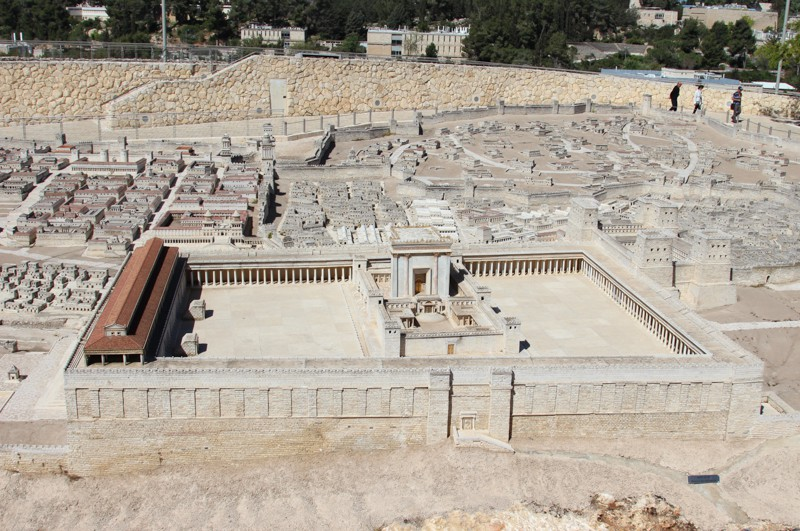 Model replica of second temple period of Jerusalem found at the Israel Museum