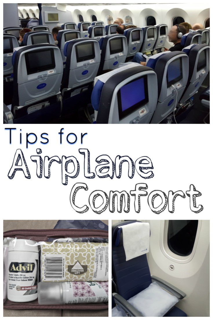 Before you head out for your next flight, read these tips for flying comfort!
