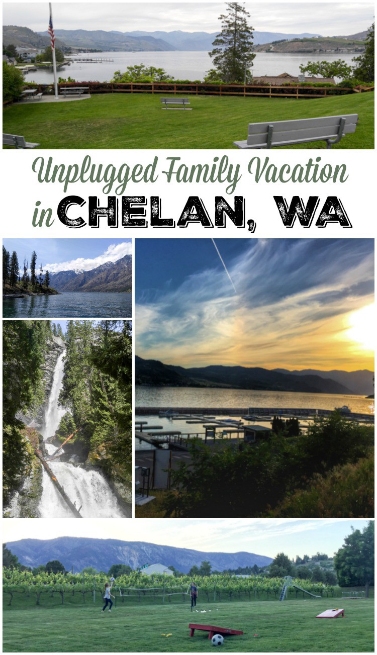 Wanting to plan an unplugged family vacation? Do you dream of enjoying the outdoors and having some family fun? Plan a visit to Chelan Washington!