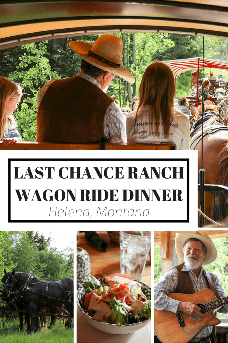 Last Chance Ranch Wagon Ride Dinner is the perfect experience to add to your Helena Montana travel plans!