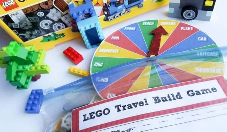 LEGO Build Game Perfect for Family Travel