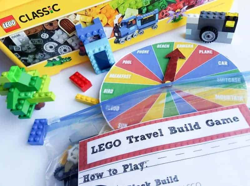 LEGO Build Game is perfect for family travel vacations